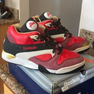"Reebok Court Victory Pump DES ""Michael Chang"" 9e21909e4"